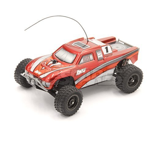 Losi 1/36 Micro Desert Truck RTR (Red) by Losi