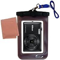 La pochette étanche Clean and Dry conçue pour l'appareil photo Nikon Coolpix S4400