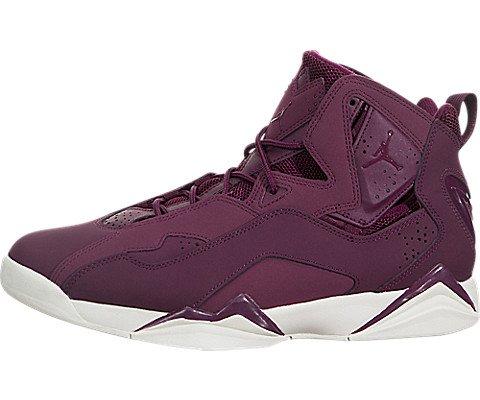 Jordan Men's True Flight Basketball Shoe, Bordeaux/Bordeaux-Sail 11 (Flight 11 Jordan)
