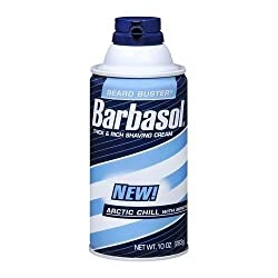 4 Pack - Barbasol Arctic Chill Thick Rich Shaving Cream 10oz Each