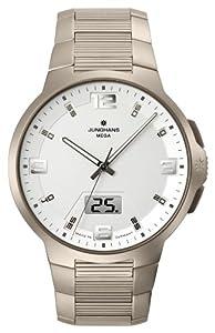 Junghans Voyager 30/2903.44 - Reloj de caballero de cuarzo, correa de titanio color gris (con radio) de Junghans