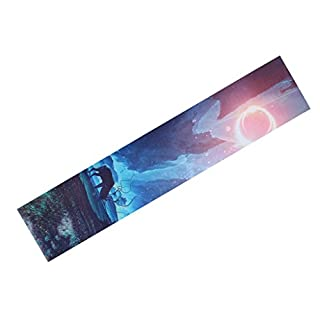 Irinay Modern Rutschfest Skateboard Aufkleber Griptape Schleifpapier Viele Farbe Auswahl Casual Chic - G Sale Burobedarf Täglich Gebrauch Produkt (Color : E, Size : Size)