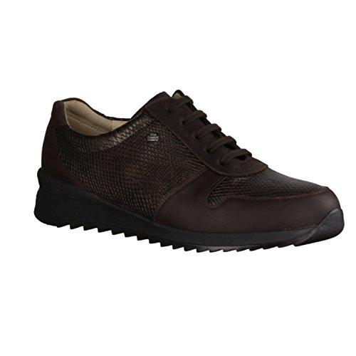 Cherokee Schuhe Für Frauen (Finn Comfort Sidonia - Bequemschuhe / lose einlage Damenschuhe Bequeme Schnürschuhe, Braun, leder (cherokee/kalahari))