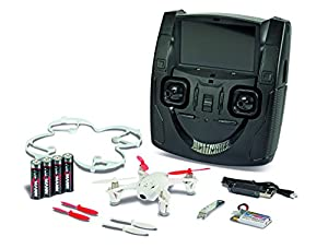 Carson 500507065 - X4 Quadcopter Micro FPV, el 100 por ciento, RTF, 2,4 GHz