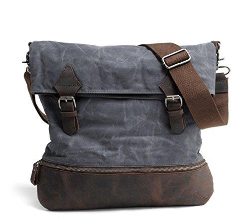 new-retro-personality-oil-wax-waterproof-canvas-bag-shoulder-bag-b0063