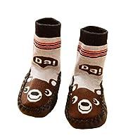 Paio di calzini antiscivolo per bambini e neonati - 6 - 18 mesi