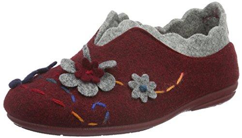 Manitu 340190, Ciabatte Donna Rosso (Rosso (Rosso))