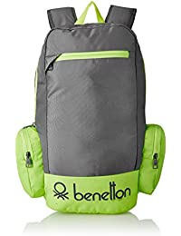 United Colors of Benetton 22 Ltrs Grey Casual Backpack (16A6BAGT7010I)
