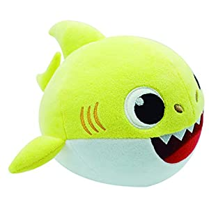 Baby Shark- Peluche Bailón, (Bandai SS01002)