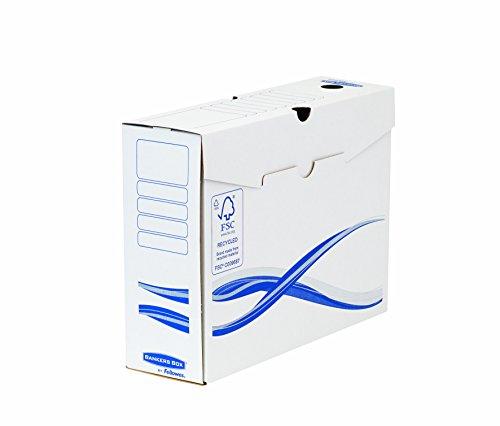 Bankers Box 4460103 Archivschachtel 10-er Pack A4+ Format, 80 mm