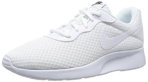 urnschuhe, Blanco (Blanco (White/White-Black)), 45.5 EU (Nike Schuhe Laufen Männer Weiß)