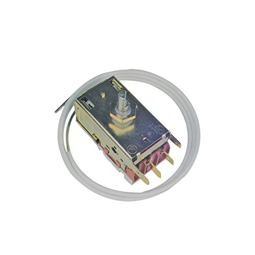 Thermostat Kühlthermostat 3-Sterne-Kühlschrank mit automatischer Abtauung Original Ranco K59-L1119 2250mm Kapillarrohr 3x6,3mm AMP passend Electrolux AEG Zanussi 50116858007 -