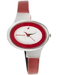 Fastrack Economy Analog White Dial Women's Watch - NE6015SL01