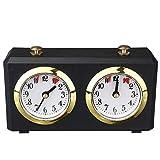 TENGGO Elettronico Analogico Scacchi Orologio Timer I-Go Count Up Down Sveglia Timer per Concorso di Gioco