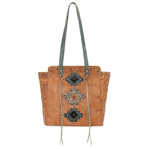 american-west-collection-navajo-soul-fourre-tout-zippe-sur-le-haut-brun-moisson-taille-unique