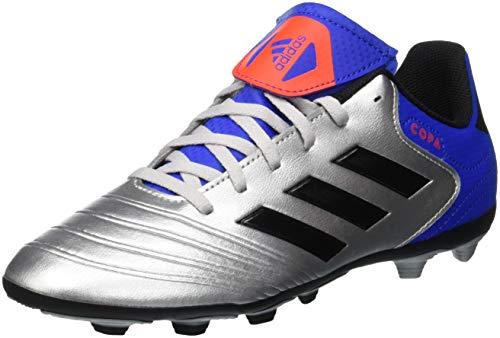 adidas Copa 18.4 FxG, Chaussures de Football Mixte Enfant, Multicolore (Plamet/Negbás/Fooblu 001), 36 2/3 EU