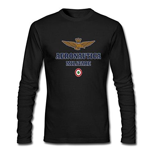 Aeronautica Militare 2016 For Men's Printed Great Sleeve tops T-shirts
