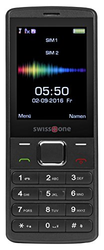 swisstone SC 550 - GSM-Mobiltelefon (mit großem beleuchtetem Farbdisplay)