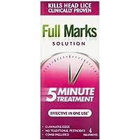 FULL MARKS SOLUTION Lösung Behandlung und Kamm, 200 ml preisvergleich bei billige-tabletten.eu