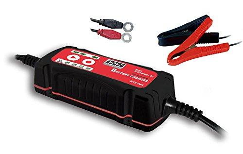 IXS X-Charger 01 Batterieladegerät Motorradbatterie Ladegerät Auto Batterie Motorrad