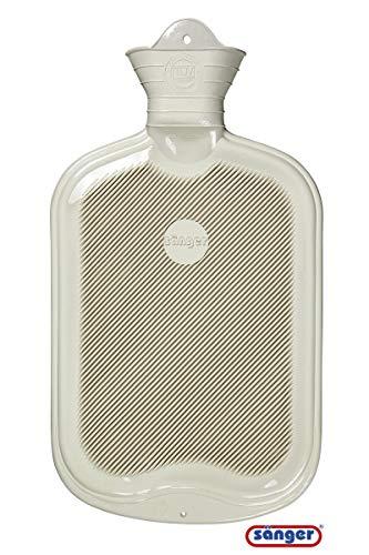 Sänger Wärmflasche 2,0 Liter (weiss)