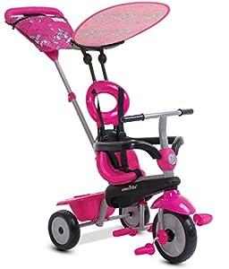 SMARTRIKE 665-2200Triciclo Infantil, Color Rosa