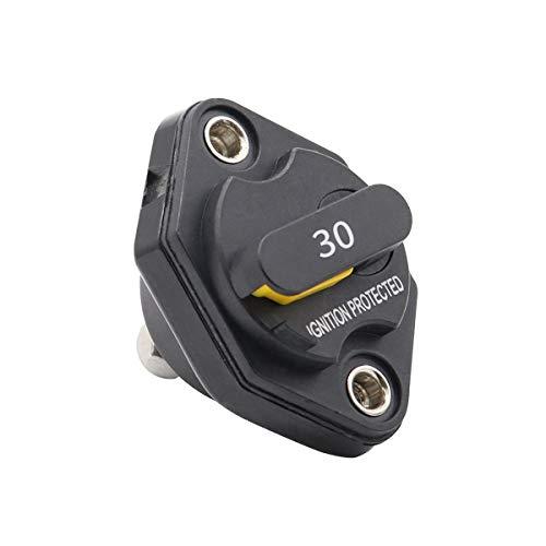 Vosarea Manual Circuit Breaker Sicherungswechselrichter für Auto Truck RV Marine Trailer Waterproof 30A - Installieren Circuit Breaker 30a