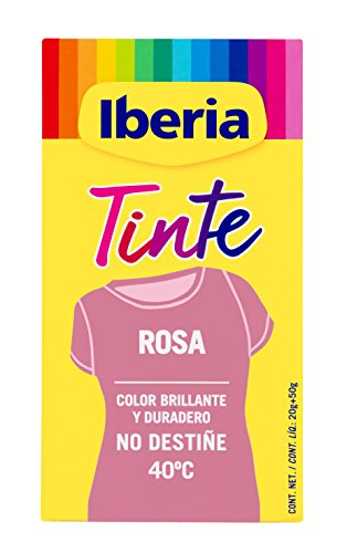 Iberia Rosa Tinte Textil - 70 gr