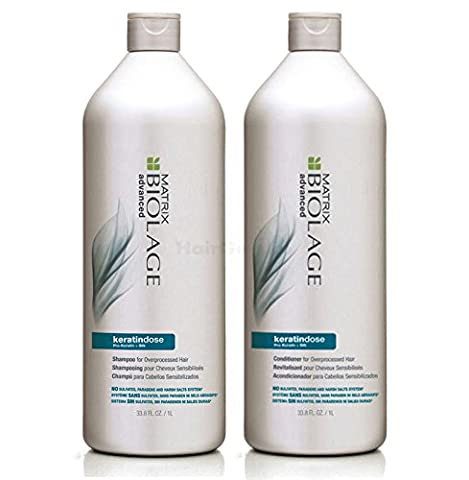 Matrix Biolage Advanced Keratindose - Shampoo 1L + Conditioner 1L