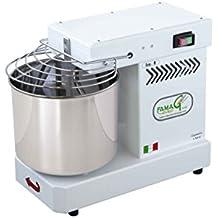 Famag - Amasadora de espiral de 8 kg para pan y pizza, máquina de cocina