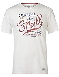 O'Neill ONeill Mens Logo Type T Shirt Crew Neck Short Sleeve Regular