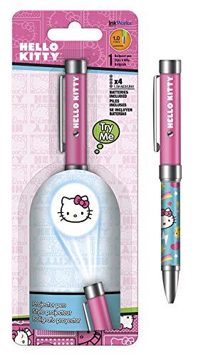 Stylo projecteur – Hello Kitty – lampe torche à bille Sanrio 1.0 mm Iw4018