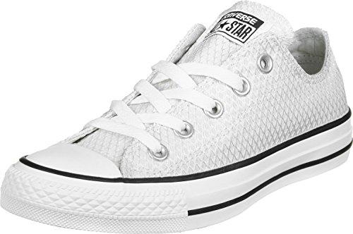 Converse Ctas Ox, Sneakers Femme Blanc