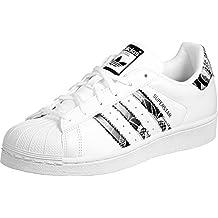 Adidas Superstar Originale, Chaussures Pour Hommes, Blanc (ftwbla / Rubmis / Ftwbla) 41 01,03 Eu