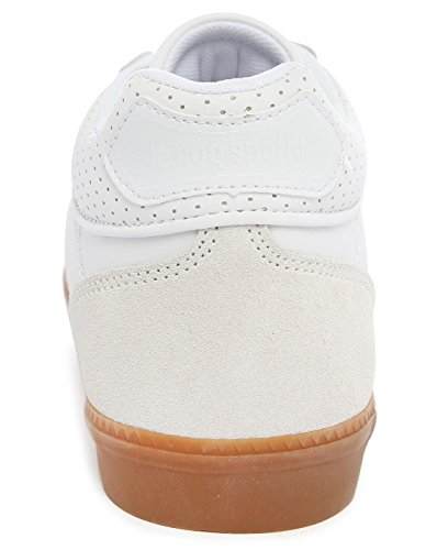 LE COQ SPORTIF - Herren- Weiße Leder-Sneaker Troca Gum Sole für herren Weiß