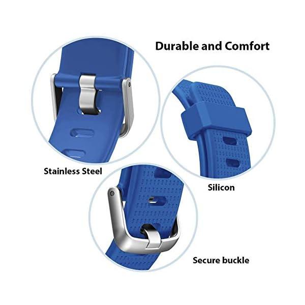 Correa para ID 130 Plus Color HR, Rastreador de Ejercicios Pulsera, Recambio Repuesto Reemplazo Banda de Reloj Ajustable para Fitness Tracker ID130 Plus 5