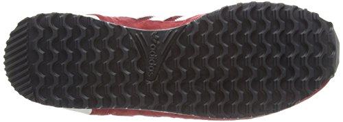 adidas Zx 700, Chaussures de Sport Homme Rouge (Collegiate Burgundy/Ftwr White/Pearl Grey)