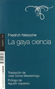 La gaya ciencia (Nueva Biblioteca Edaf) de [NIETZSCHE, FRIEDRICH]