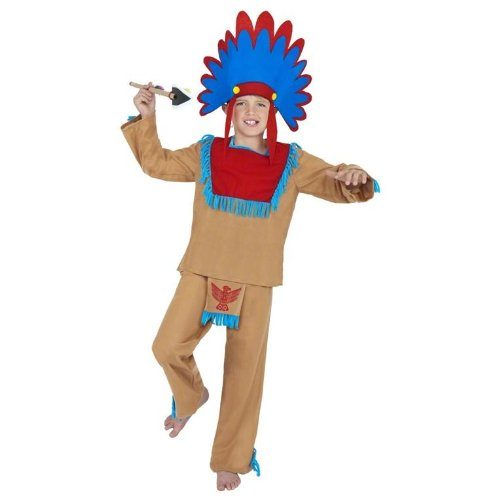 Indian Boy Costume (Smiffys) (Boy Kostüm Indian)