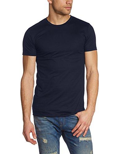 Trigema Herren T-Shirt 636201, Blau (Navy 046), X-Large
