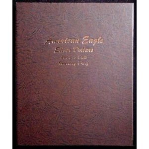 Dansco Silver Eagles with Proof 2007-Date Album #8182 by Dansco
