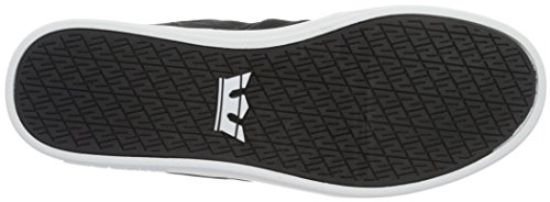 Supra Stacks Ii, Sneakers Basses mixte adulte Noir (BLACK- WHITE BKW)
