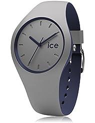 Ice-Watch Duo Winter Montre Homme Analogique Chronomètre avec Bracelet en Silicone – 012974