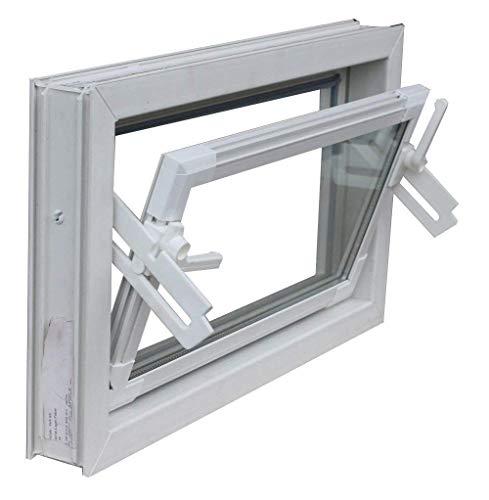 Kellerfenster weiss 70 x 30 cm Isolierverglasung 3.3