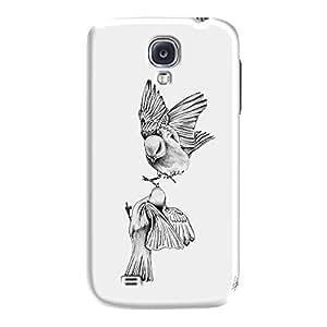 DailyObjects Birdies Love Case For Samsung Galaxy S4
