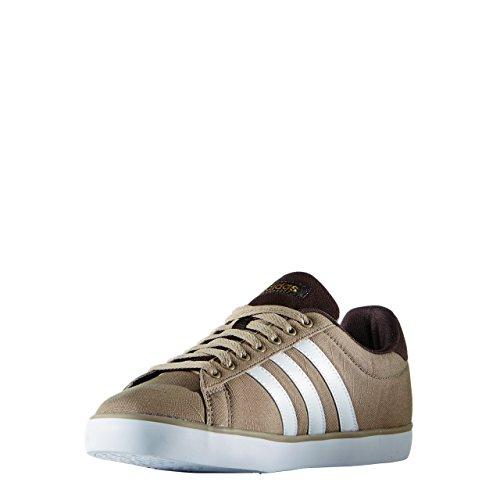 adidas Derby Vulc, Chaussures de skate homme Blanc / Doré (Stcaqp / Ftwbla / Dormat)