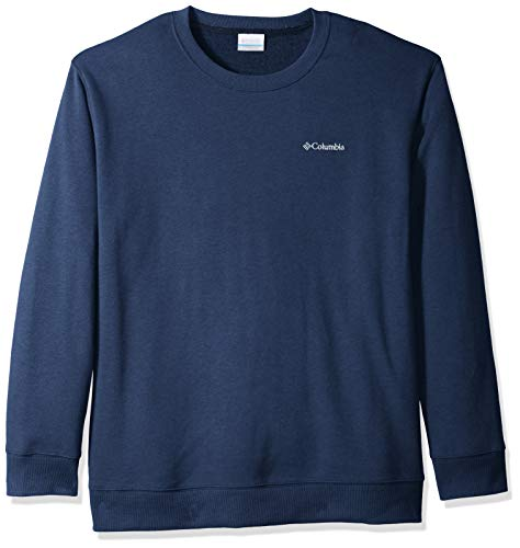Columbia Herren Hart Mountain II Big & Tall Crew Hemd, Collegiate Navy Heather, 3XT