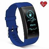 QiyuanLS Activity Tracker con monitoraggio della frequenza cardiaca Fitness...