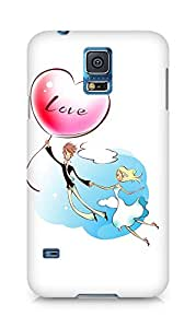 Amez designer printed 3d premium high quality back case cover for Samsung Galaxy S5 (Valentines day)