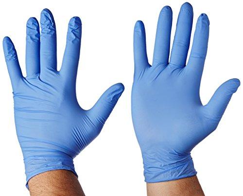 LCH Blue Evolution Nitril-Handschuhe puderfrei 100Stück (Arzt Handschuhe)